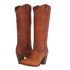 FRYE Women's Ilana Western/Cowboy Heeled Boots 10